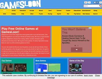 Thumbshot of Gamesloon.com