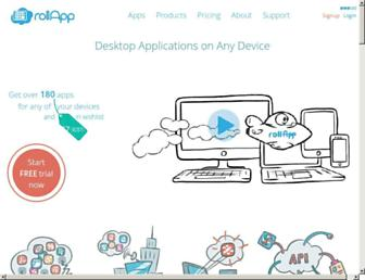 Thumbshot of Rollapp.com