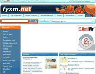 webmonitor.fyxm.net screenshot