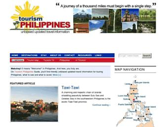 tourism-philippines.com screenshot