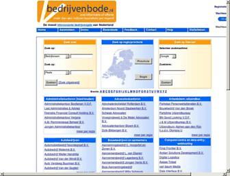 bedrijvenbode.nl screenshot