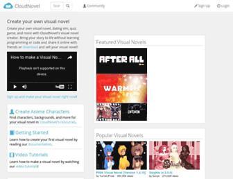 cloudnovel.net screenshot