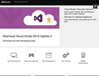 social.msdn.microsoft.com screenshot