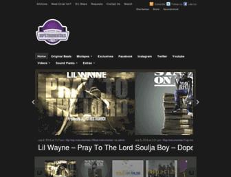 hipstrumentals.com screenshot