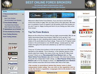 Thumbshot of Bestonlineforexbrokers.com