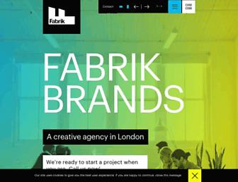 fabrikbrands.com screenshot