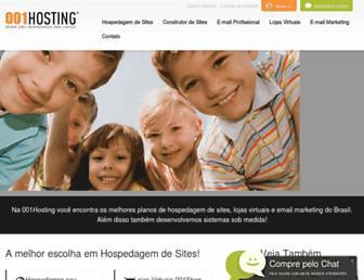 001hosting.com.br screenshot