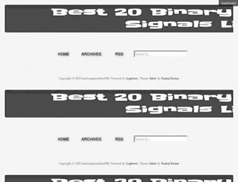 allbinaryoptionssignals.logdown.com screenshot