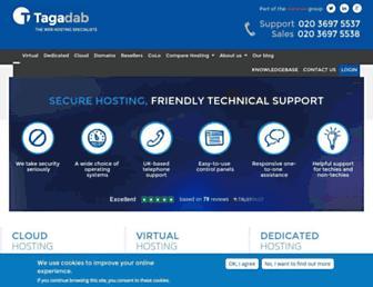 tagadab.com screenshot