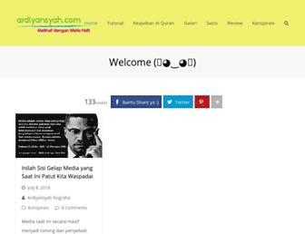ardiyansyah.com screenshot