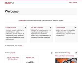 solderpad.com screenshot