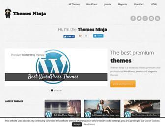 Thumbshot of Themesninja.com