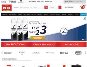lojasrede.com.br screenshot