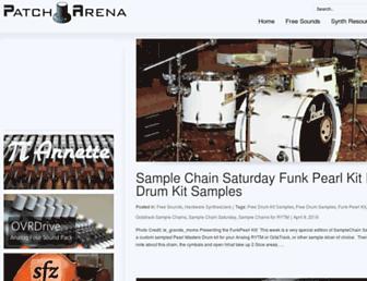 patcharena.com screenshot