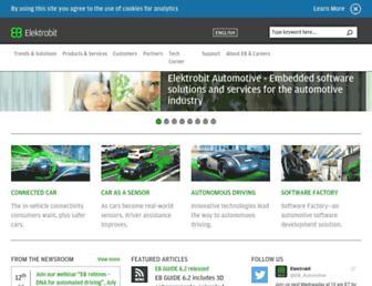 elektrobit.com screenshot