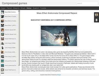 compressedgamesforyou.blogspot.com screenshot