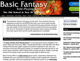 basicfantasy.org screenshot