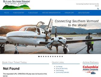 flyrutlandvt.com screenshot