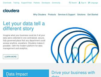Thumbshot of Cloudera.com