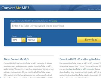 Thumbshot of Convertmemp3.com