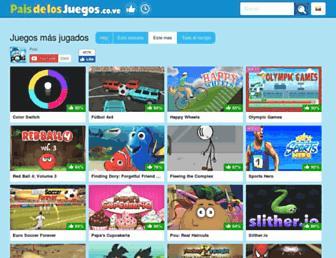 paisdelosjuegos.co.ve screenshot