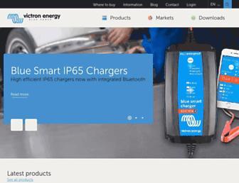 victronenergy.com screenshot
