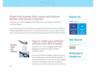 webcusp.com screenshot