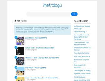 dl.metrodl.com screenshot