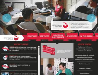 dominionvoting.com screenshot