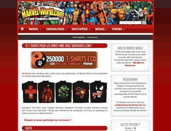 marvel-world.com screenshot