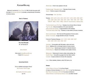 koreanfilm.org screenshot