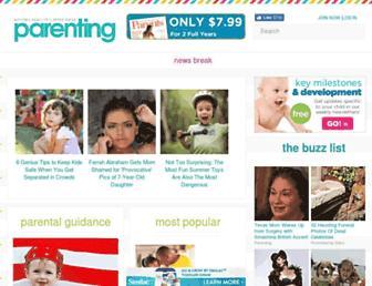 parenting.com screenshot