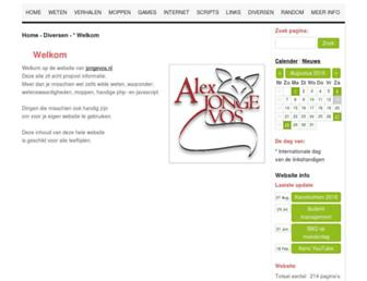 jongevos.nl screenshot