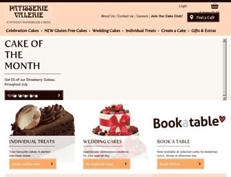 patisserie-valerie.co.uk screenshot
