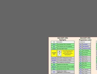 saildart.org screenshot
