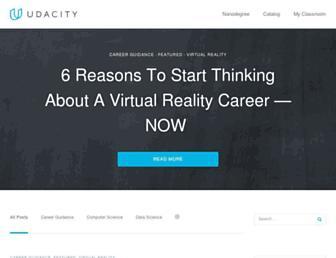 blog.udacity.com screenshot