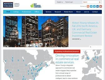 avisonyoung.com screenshot