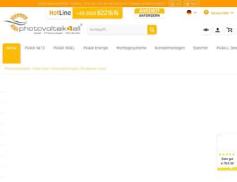 photovoltaik4all.de screenshot