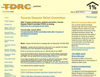 tdrc.net screenshot