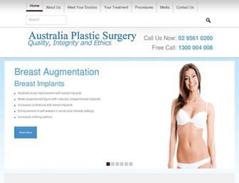 Thumbshot of Australiaplasticsurgery.com.au