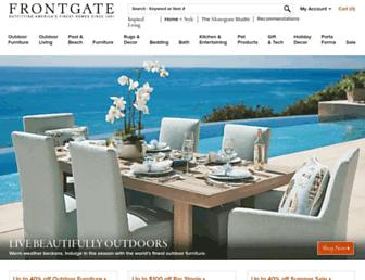Thumbshot of Frontgate.com