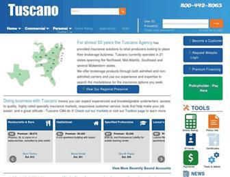 tuscano.com screenshot