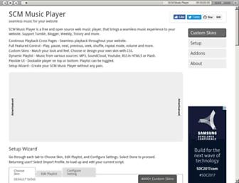scmplayer.co screenshot