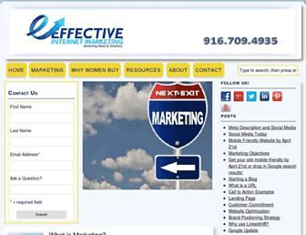 Thumbshot of Effectiveinternetmarketing.org