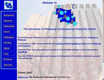 ccc.chem.pitt.edu screenshot