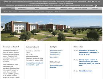 Thumbshot of Tiscali.com