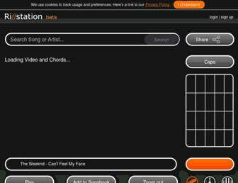 play.riffstation.com screenshot