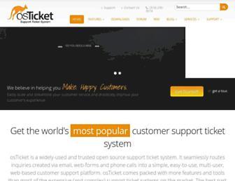 osticket.com screenshot