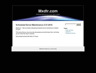 mxdtr.com screenshot