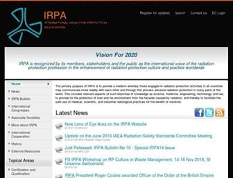 irpa.net screenshot